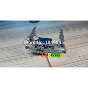 Generic with DS3218 servo : Full Metal Robotic Arm Gripper Robot Mechanical Claw H3,Compatible with MG996R etc. servo for Robot hand Design, DIY,study demo