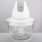 Мини чопър Crown MC-3001, 300W, Обем 1 литър, Бял