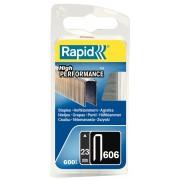 Capse Rapid 606 23 mm galvanizate cu rasina 600 blister