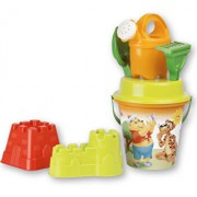 Set accesorii de nisip in rucsac mare Poppy Bear Androni