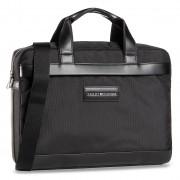 Чанта за лаптоп TOMMY HILFIGER - Uptown Nylon computer Bag AM0AM06432 BDS