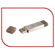 USB Flash Drive 16Gb - Uniscend Doubles Silver 5945.16