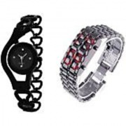 TRUE COLORS FUTURE GANERATION COMBO HOT SELLING COMBO Analog-Digital Watch - For Couple Boys Girls Men Women