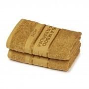 Set 2 prosoape 4Home Bamboo Premium maro deschis, 50 x 100 cm
