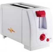 Chef Pro Compact Design With 7 Browning Settings 750 W Pop Up Toaster(White)
