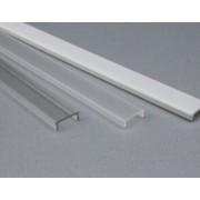 Pokrov za aluminijski Profil ALP 00X PMMA SEMI CLEAR 2m