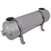 vidaXL Permutador de calor, piscina, 485 x 134 mm 60 kW