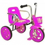 OH BABY Cycle Baby Tricycle WITH CYCLE COLOR Pink SE-TC-88