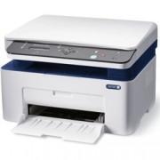 Мултифункционално лазерно устройство Xerox WorkCentre 3025B, принтер/скенер/копир, 600x600 dpi, 20стр/мин, Wi-Fi, USB, A4