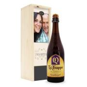 YourSurprise Bier in bedrukte kist - La Trappe Quadrupel