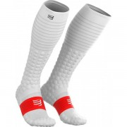 Compressport Recovery Full Socks - Unisex - Wit - Grootte: L4
