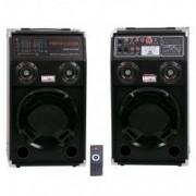 Boxe active profesionale BT284 Bluetooth USB SD Card RADIO Telecomanda Geepas