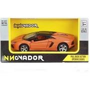 Innovador 1:38 Lamborghini Aventador LP 700-4 Roadster(Orange) pull back car