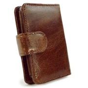 iPod Classic Tuff-Luv Vintage Portemonnee Leren Case - Bruin