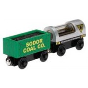 Jucarie Thomas and Friends Wooden Railway Oil and Coal Cargo