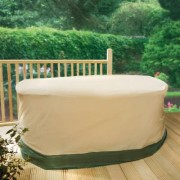 Garden Table & 4 Chairs Cover by Coopers of Stortford