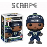 Funko Pop Bobby Wagner Seatle Seahawks Alcones Marinos Nfl