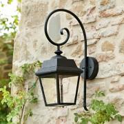 LOBERON Wandlamp voor buiten Lewarde / zwart
