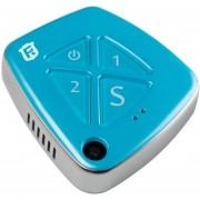 V42 WCDMA 3G GPS Tracker Rastreo En Tiempo Real Sos Communicator Colgante Con Camara, GPS + WIFI + Lbs, Respuesta Modos, Modo Silencioso, Alarma, Foto, GEO - Valla (azul)