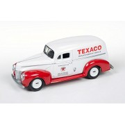 Round 2 1940 Texaco Ford Delivery Van, White w/Red - JLTX001 1/64 Scale Diecast Model Toy Car