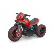 BABY MIX MOTOR NA AKUMULATOR POLICJA - Czerwony