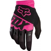 Fox Dirtpaw Race Youth Guantes Rosa/Negro S