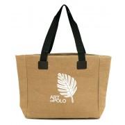 Art of Polo Geantă bej pentru cumpărături Leaf tr16126.2