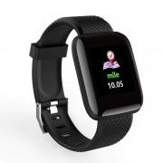 "Brafara fitness smart RegalSmart D13-221, IP67, ritm cardiac, multi sport, pedometru, notificari, vibratii, ecran 1.3"" OLED"