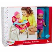 Little Mommy silla alta incluye muñeca x1039