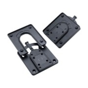 HP Quick Release Bracket for Monitor, Mini PC, Display Stand, Mounting Arm, Wall Mount - Black