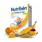 8 cereais mel e 4 frutas 300g - Nutriben