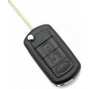 Carcasa cheie tip briceag 3 butoane Stil BMW Land Rover negru