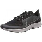 Nike Air Zoom Pegasus 36 Shield Zapatillas para correr para hombre, gris fresco/plateado-negro-vasto gris, 10.5 US