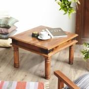 indickynabytok.sk - Konferenčný stolík Jali 45x40x45 indický masív palisander/sheesham, Only stain