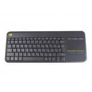 Клавиатура Logitech Wireless Touch Keyboard K400 Plus Black 920-007147