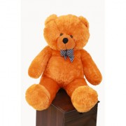 Piccolo Premium Quality Soft Teddy Bear with Neck Bow 4FEET(BROWN)