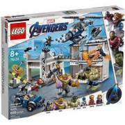 Конструктор Лего Супер Хироу - Битка в базата на Avenger, LEGO Marvel Super Heroes, 76131