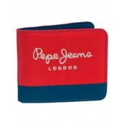 Pepe Jeans Bicolor Boy Billetero Rojo