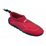 Beco Anti-slip rode waterschoenen voor dames