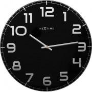 NeXtime Zegar ścienny Classy Large czarny