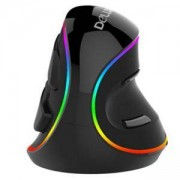 Вертикална оптична мишка Delux M618 Plus, M618PLUS-RGB_VZ