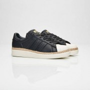 Adidas Superstar 80s New Bold W For Women In Black - Size 39 ⅓
