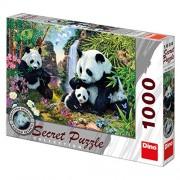 Dinotoys Dino Toys 532229 Secret Collection Pandas Jigsaws Puzzle