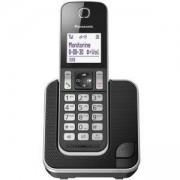 Безжичен DECT телефон Panasonic KX-TGD310FXB, 1015133