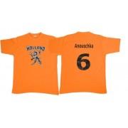 Holland t-shirt met naam bedrukt