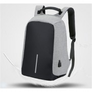 Style Maniac High Quality 15.6 inch Laptop Backpack (Black Grey)