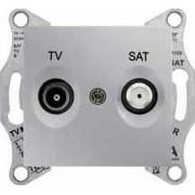 SEDNA TV-SAT aljzat végzáró 1 db IP20 Alumínium SDN3401660 - Schneider Electric