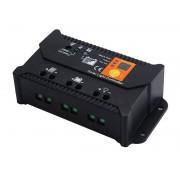Solarny regulator ładowania PWM SOL-10S 12/24 - 10A