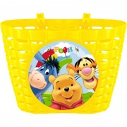 Cos bicicleta Winnie the Pooh Seven, montare universala, Galben