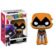 Funko Pop Raven Orange Teen Titans Go Exclusivo Vinyl-Naranja
